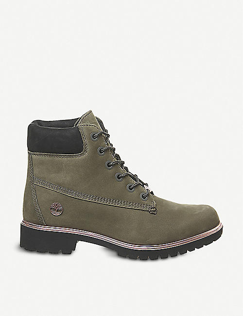 TIMBERLAND: Slim Premium 6-inch leather boots