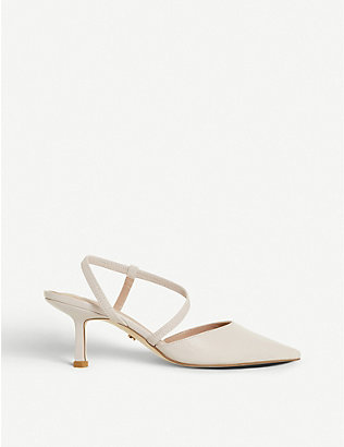 DUNE: Colombia heeled suede courts