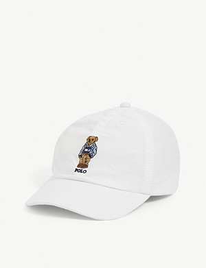 RALPH LAUREN Kids embroidered Polo Bear baseball cap
