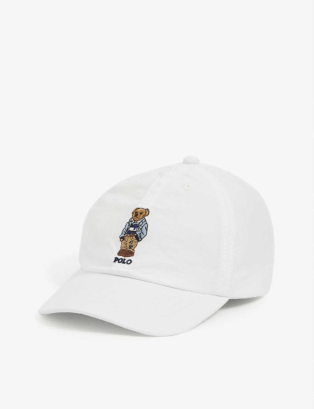 RALPH LAUREN: Kids embroidered Polo Bear baseball cap