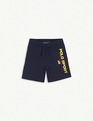 RALPH LAUREN Cotton sweatshorts 2-7 years