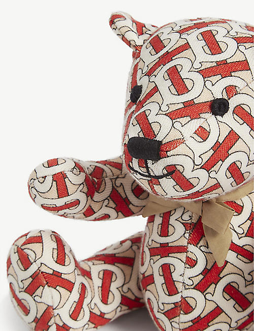 BURBERRY TB monogram print Thomas the Bear