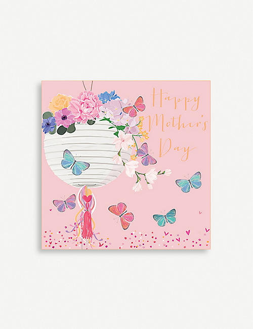 BELLY BUTTON DESIGNS Happy Mother's Day greeting card 13cm x 13cm
