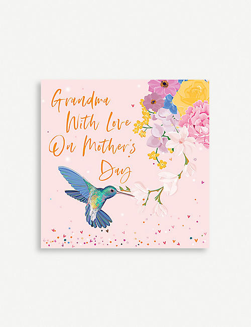 BELLY BUTTON DESIGNS Grandma Mother's Day card 13cm x 13cm