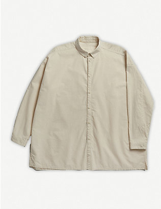 TOOGOOD: The Draughtsman cotton shirt