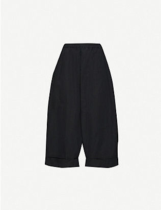 TOOGOOD: The Boxer wide-leg high-rise cotton trousers