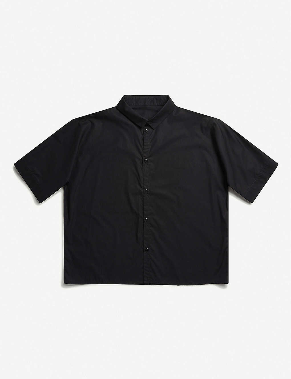 TOOGOOD: The Gardener cropped cotton shirt