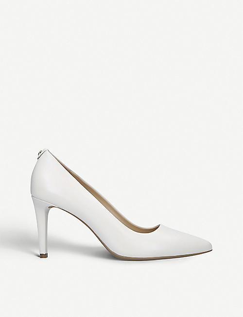 MICHAEL MICHAEL KORS: Dorothy Flex leather heeled courts