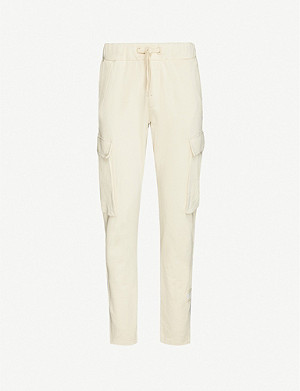 TOMMY HILFIGER Tommy Hilfiger x Lewis Hamilton stretch-cotton cargo trousers