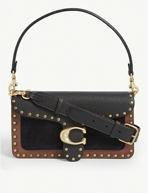 COACH Tabby studded leather shoulder bag