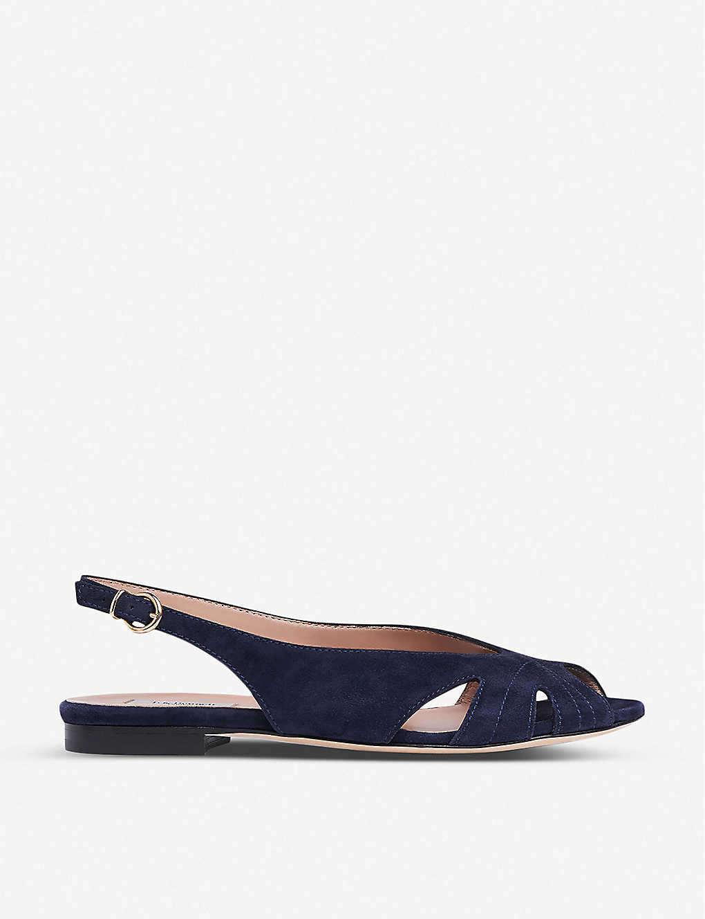 LK BENNETT: Rome cut-out leather slingback sandals