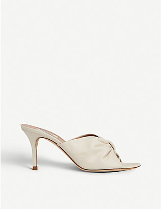 LK BENNETT: Nadia open-toe leather mules