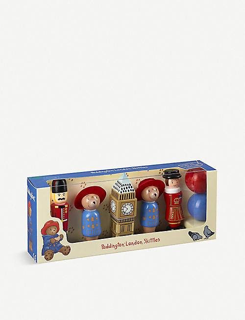 ORANGE TREE TOYS: Paddington Bear London Skittles toy 3 years +