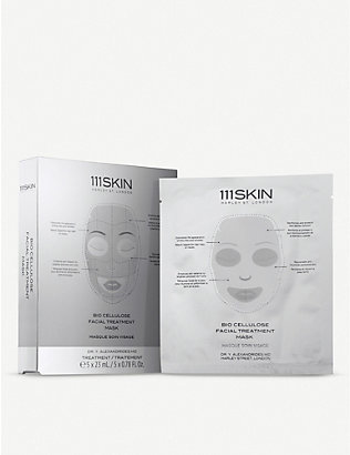 111SKIN: Bio Cellulose Facial Treatment Mask set 5 x 23ml