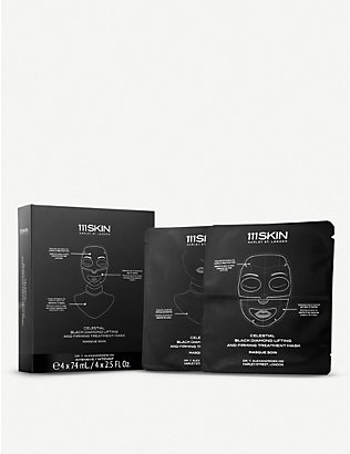 111SKIN: Celestial Black Diamond Lifting and Firming Mask 4 x 74ml