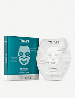 111SKIN: Anti Blemish Bio Cellulose Face Mask 23ml