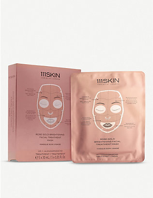 111SKIN: Rose Gold Brightening facial treatment mask