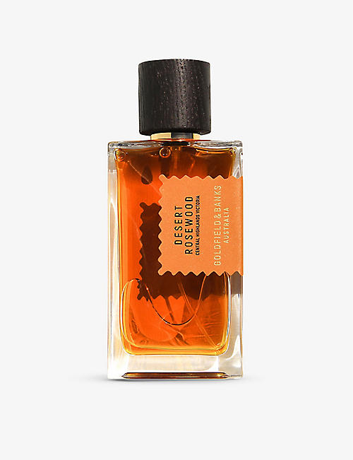 GOLDFIELD & BANKS: Desert Rosewood perfume concentrate 100ml