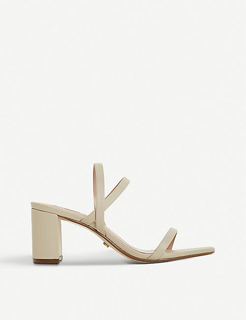 DUNE Marta leather heeled sandals