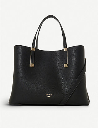 DUNE: Dorrie faux-leather tote