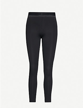 REEBOK X VICTORIA BECKHAM: Performance high-rise stretch-jersey leggings