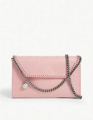 STELLA MCCARTNEY: Falabella vegan-leather cross-body bag