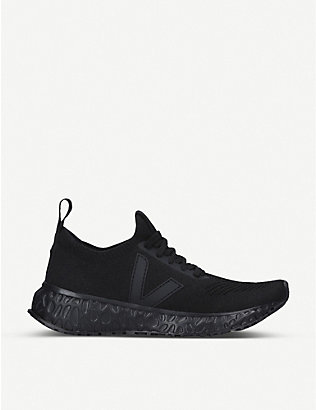 RICK OWENS: Rick Owens x Veja woven low-top trainers