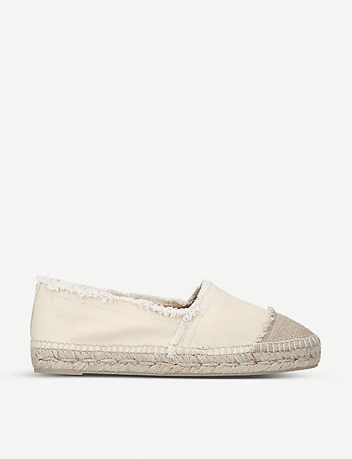 CASTANER: Kampala cotton-canvas espadrilles