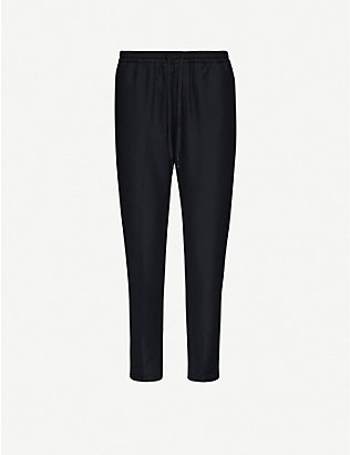 WON HUNDRED: Cleo tapered mid-rise woven trousers