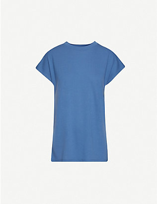 WON HUNDRED: Round-neck jersey T-shirt