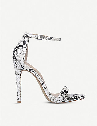 ALDO: Caraa reptile-embossed faux-leather sandals