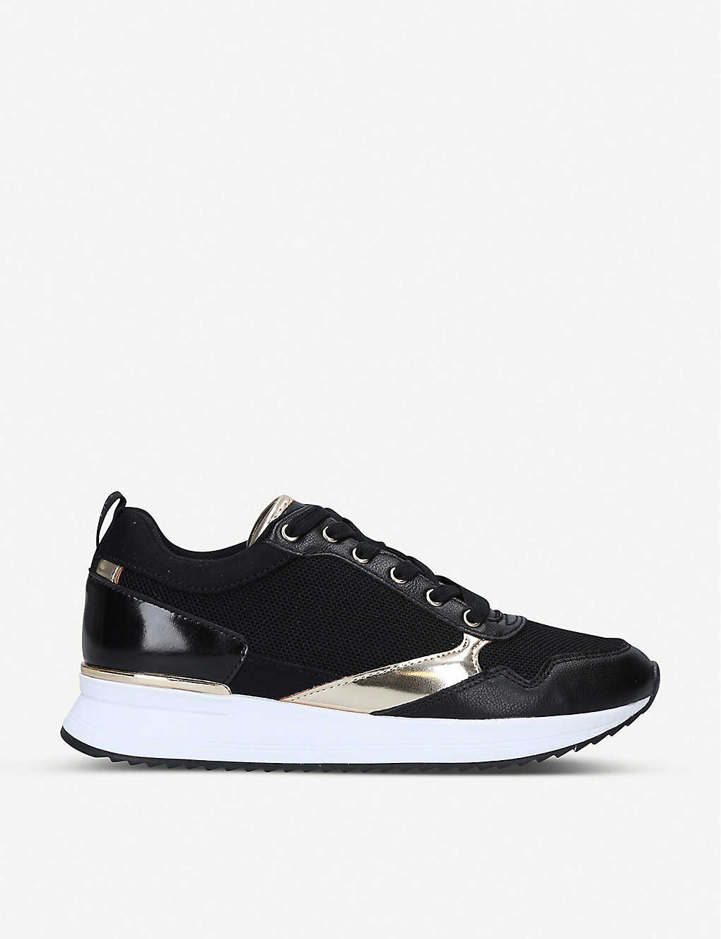 ALDO: Genica panelled mesh trainers