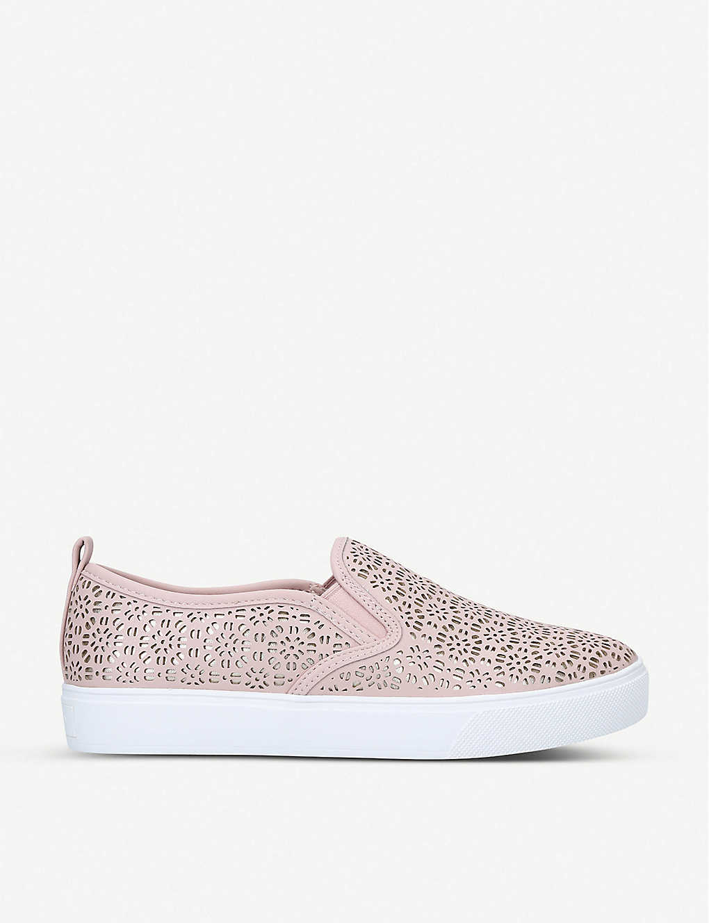 ALDO: Jille cut-out faux-leather trainers
