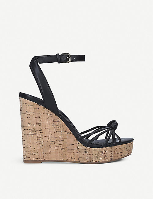 ALDO: Kaoedia faux-leather wedge sandals