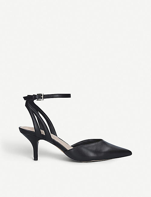 ALDO: Krasnoya pointed-toe leather heeled courts