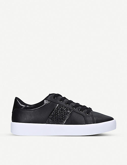 ALDO: Pernille faux-leather trainers