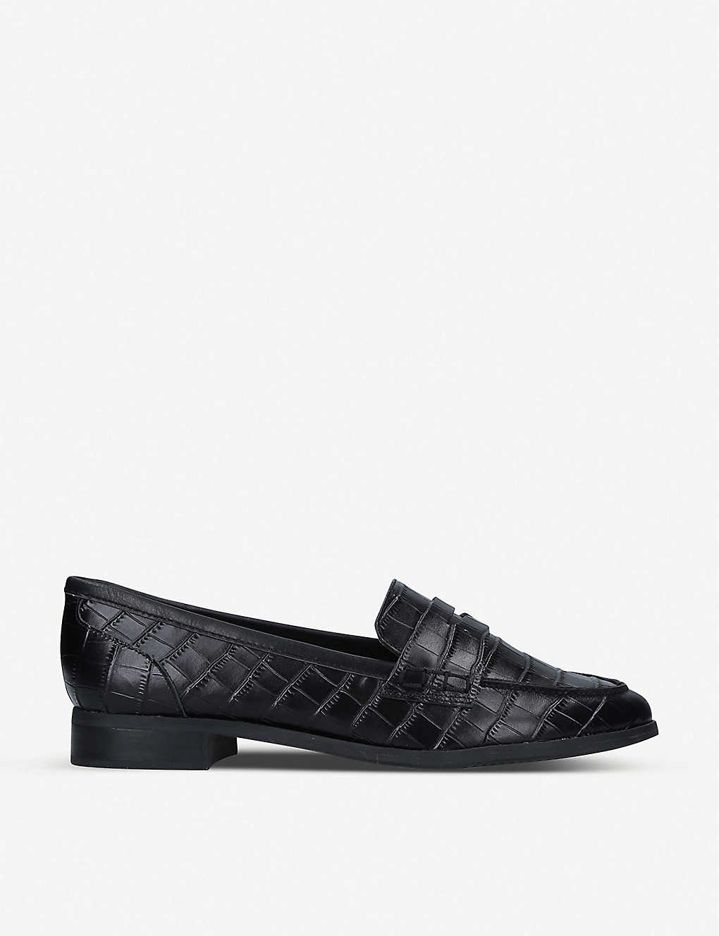 ALDO: Urawen croc-embossed faux-leather loafers