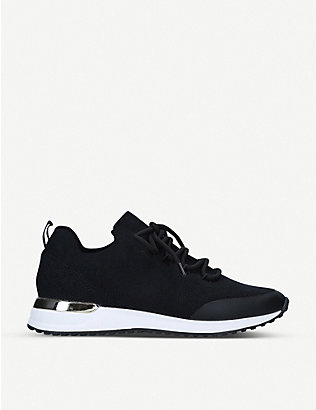 ALDO: Rascasse contrast-sole knitted trainers
