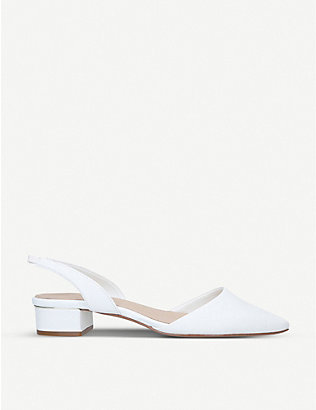 ALDO: Anathana slingback leather block-heel courts