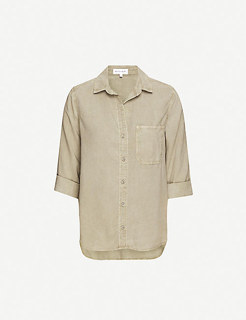 BELLA DAHL Loose-fit woven shirt