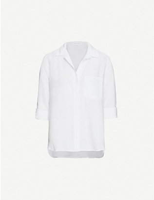 BELLA DAHL: Loose-fit woven shirt