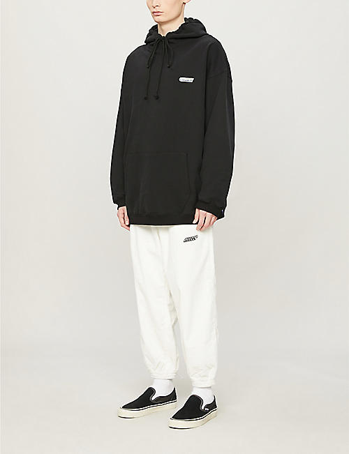 XOXOGOODBOY Tapered cotton-corduroy jogging bottoms