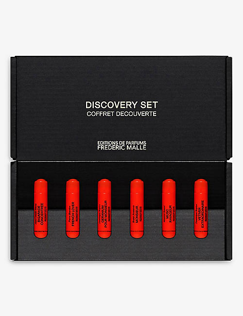 FREDERIC MALLE: Discovery Set For Men 6 x 1.2ml