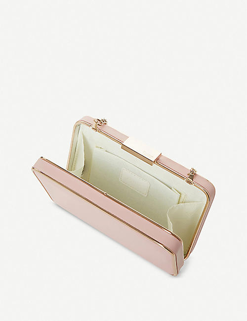 DUNE Beaut slim clutch bag
