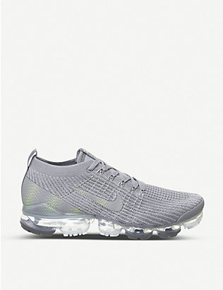 NIKE: Air VaporMax FK3 nylon and mesh trainers
