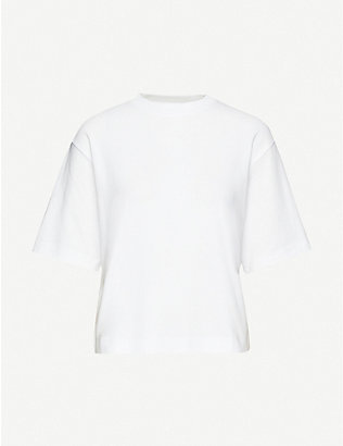 VINCE: Oversized cotton-jersey T-shirt