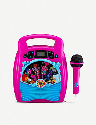 TROLLS: Karaoke machine with light show