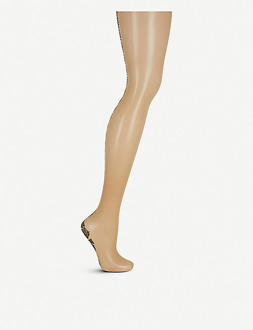 FALKE: Tapis Seam sheer tights