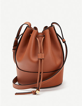 LOEWE: Balloon small leather shoulder bag