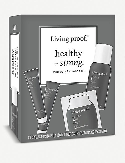 LIVING PROOF: Healthy and Strong mini transformation hair kit